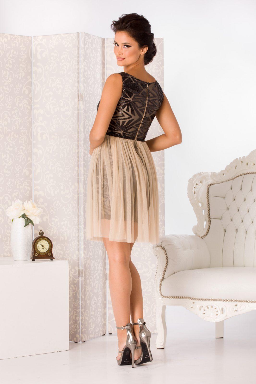 Nude Αμπιγιέ Φόρεμα Izza 4988 2