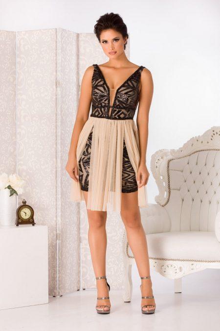 Izza Nude Dress