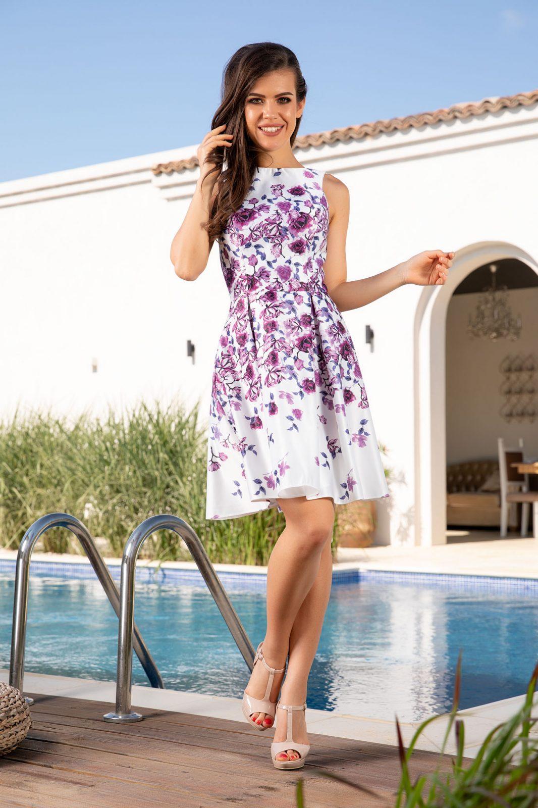 Leyla Floral Φόρεμα 4924