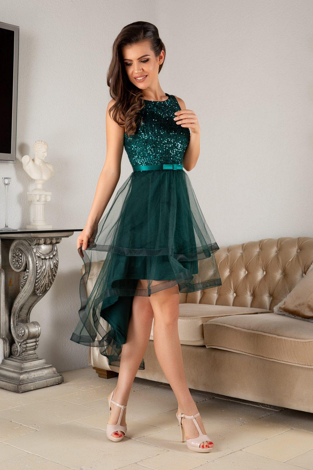 Queeny Green Dress