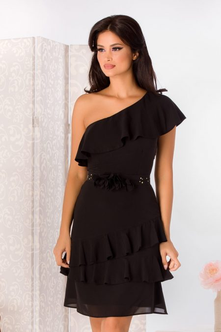 La Donna Jennifer Black Dress