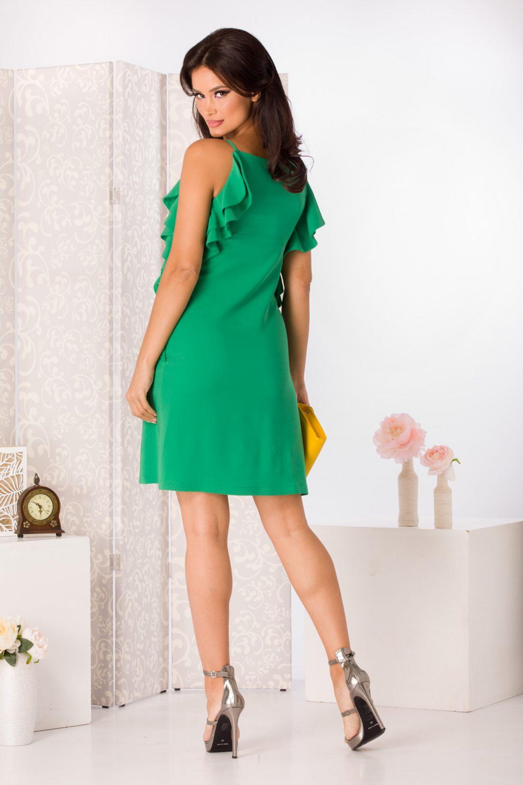 La Donna Lorna Πράσινο Φόρεμα 4976