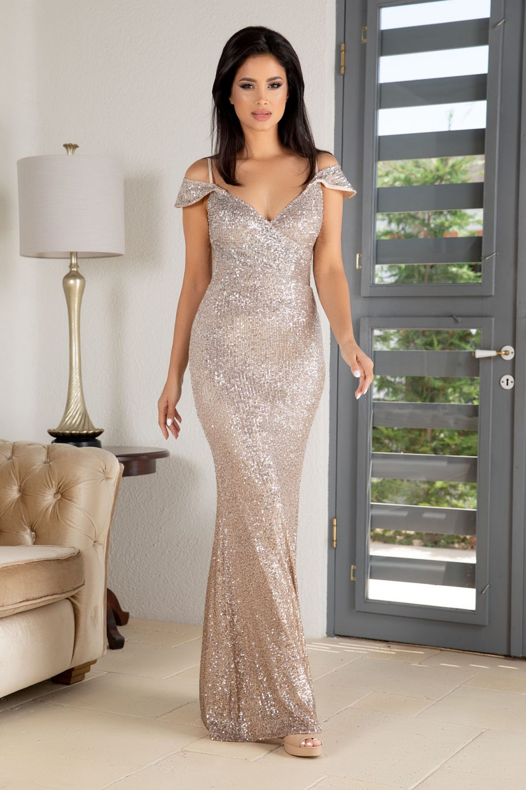 Sensual Nude Φόρεμα 4872