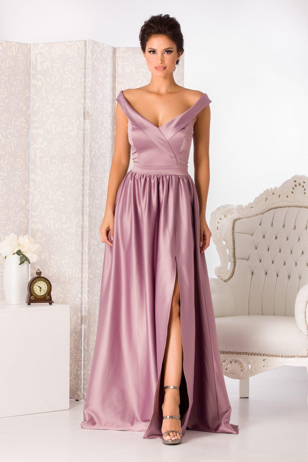 Musical Λιλά Φόρεμα 2257