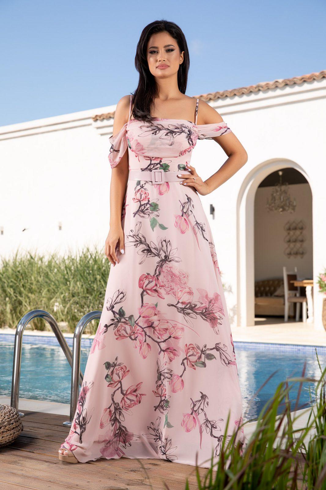 Anemone Rose Dress
