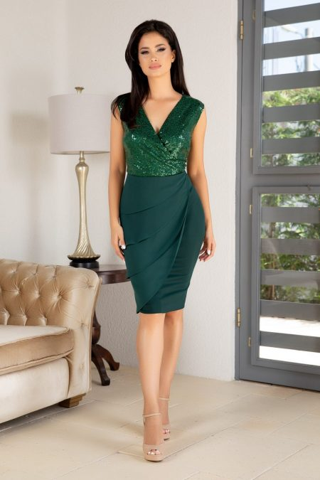 Lima Green Dress