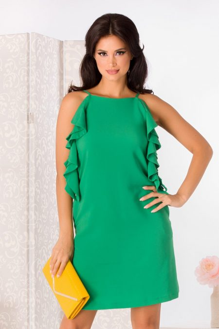 La Donna Lorna Green Dress