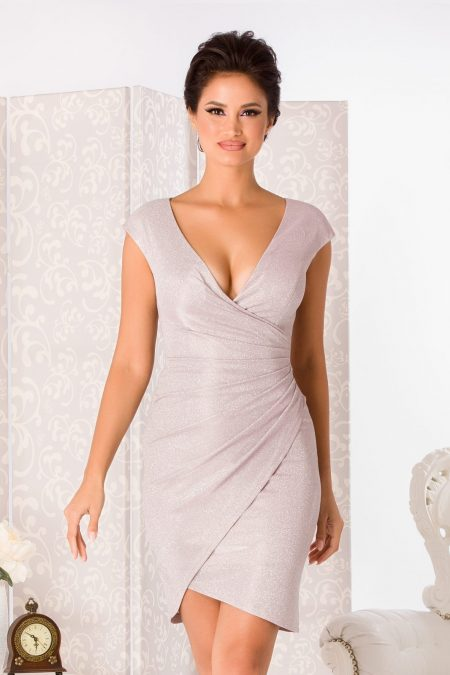 Flame Rose Dress