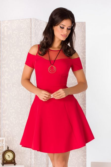 Tina Red Dress