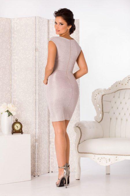 Flame Midi Ροζ Φόρεμα 4980