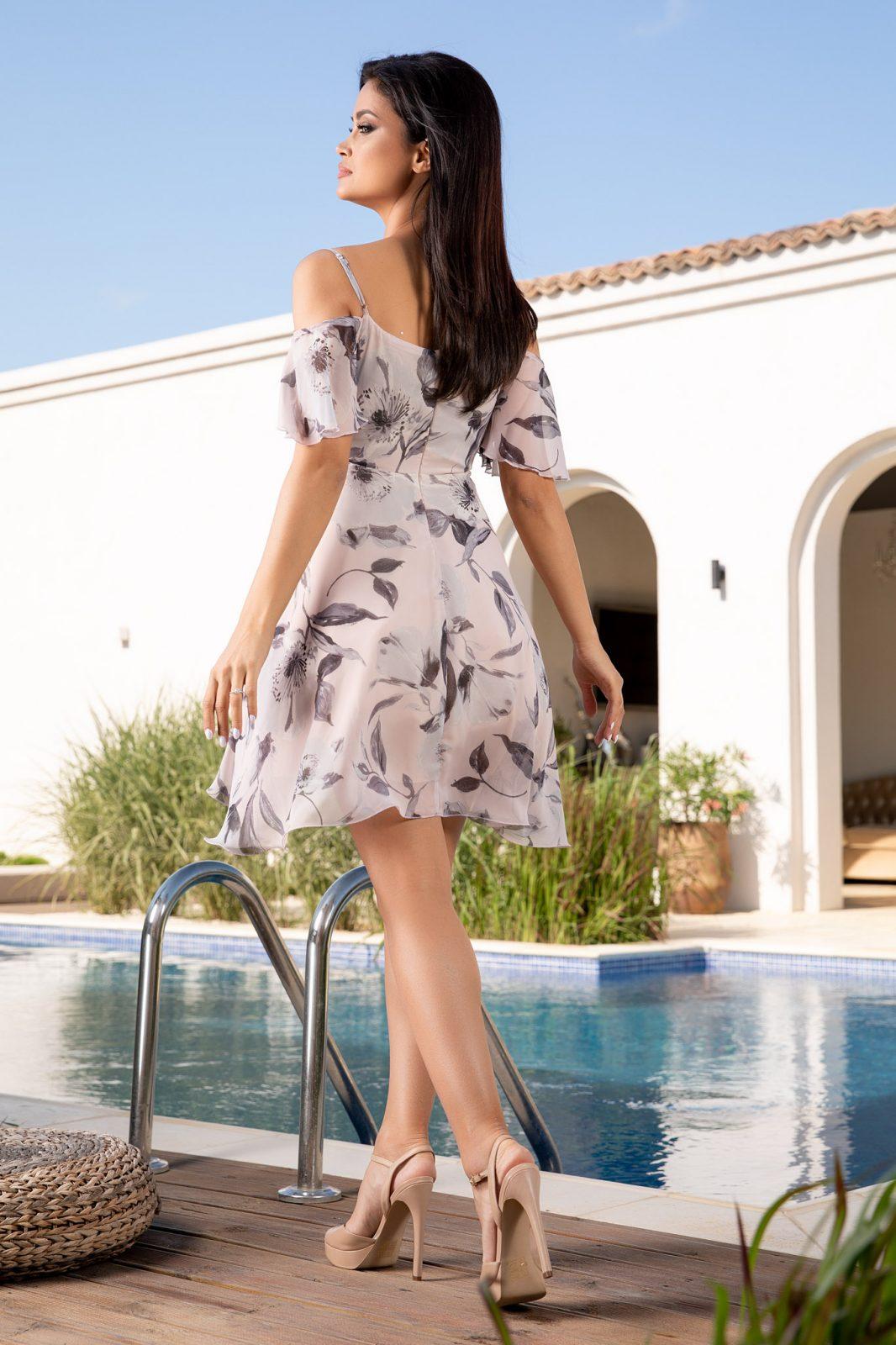 Jodie Ροζ Φόρεμα 4913