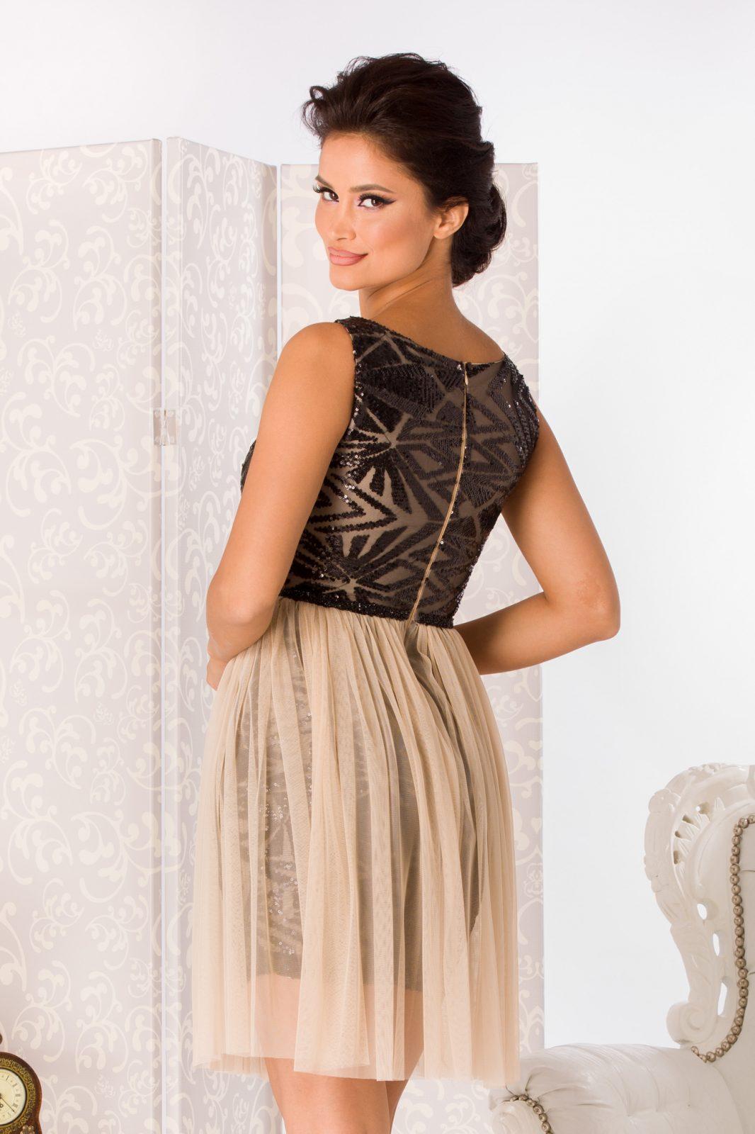 Nude Αμπιγιέ Φόρεμα Izza 4988 6