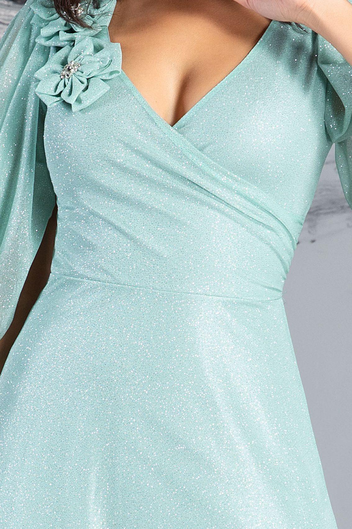 Teresa Maxi Πράσινο Φόρεμα 5030 3