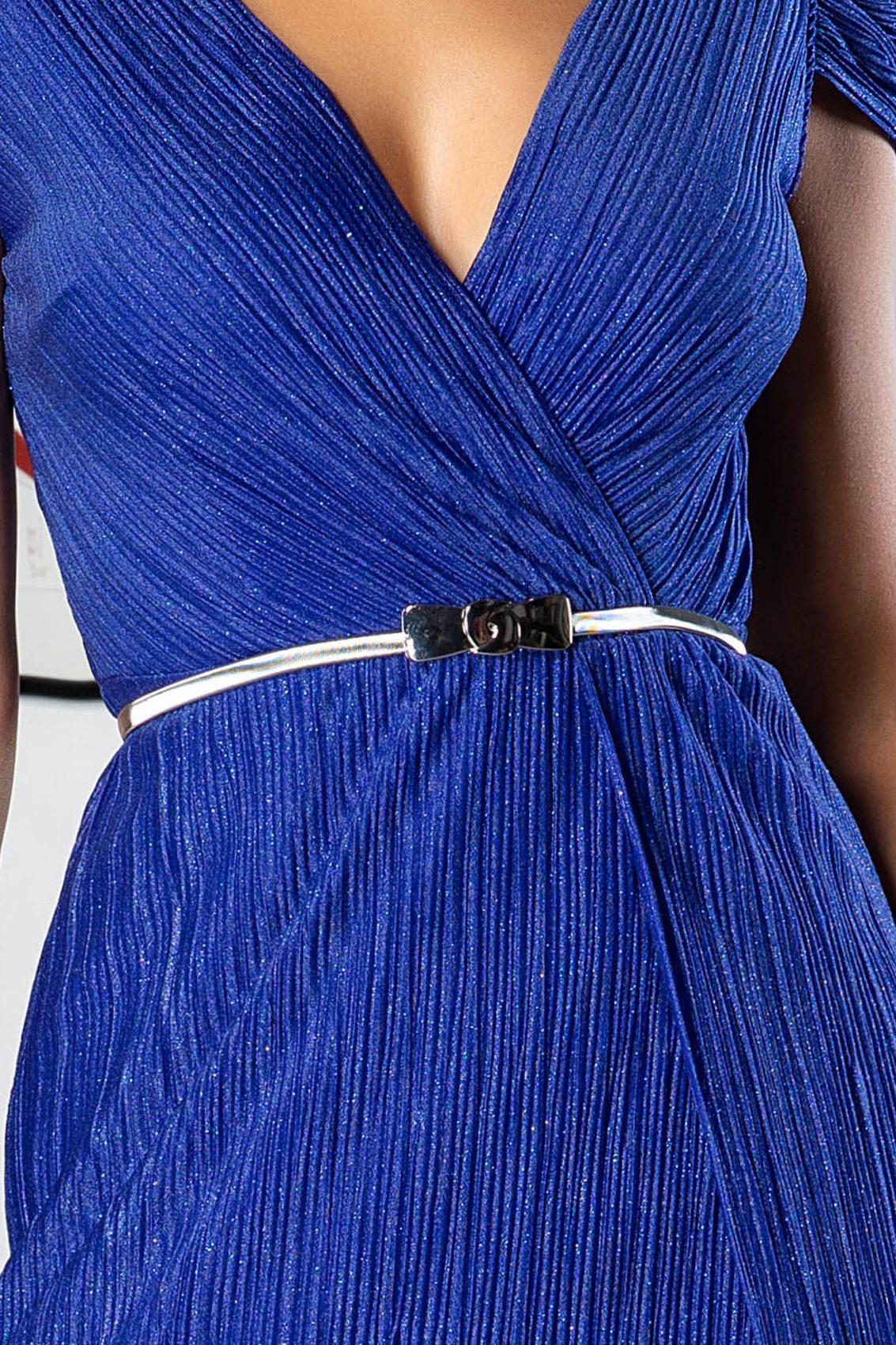 Cleopatra Midi Μπλε Φόρεμα 5020