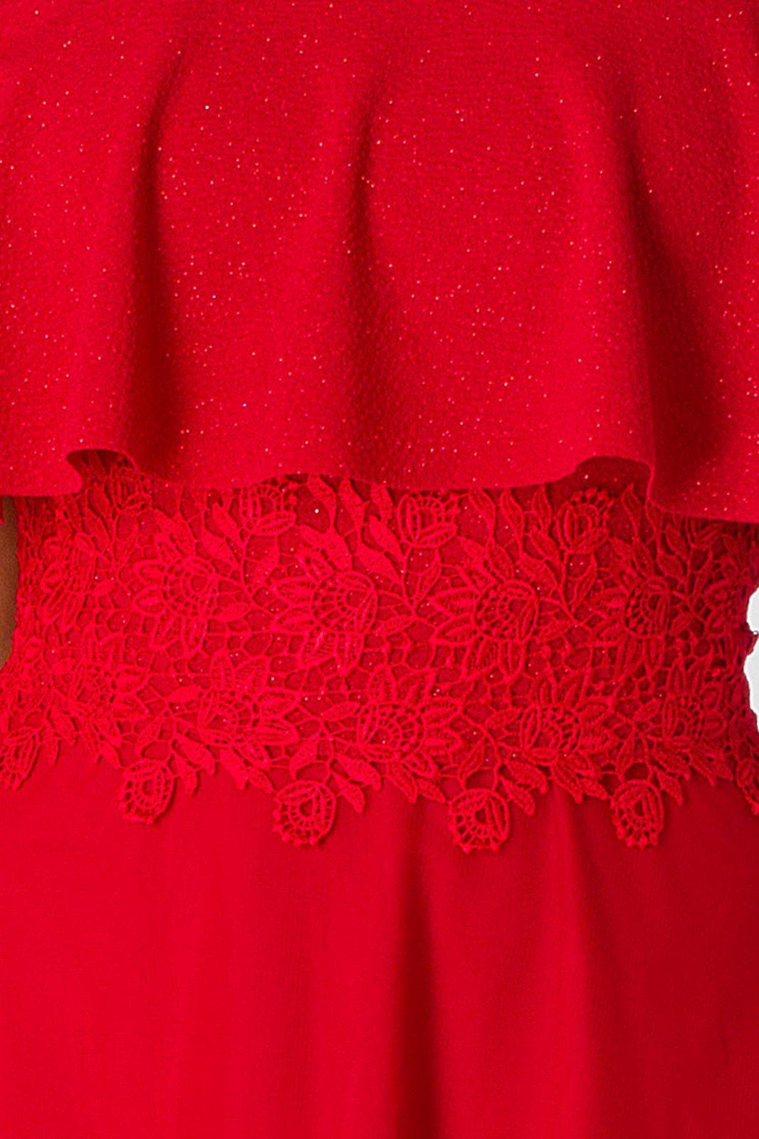 Adelle Κόκκινο Φόρεμα 5001