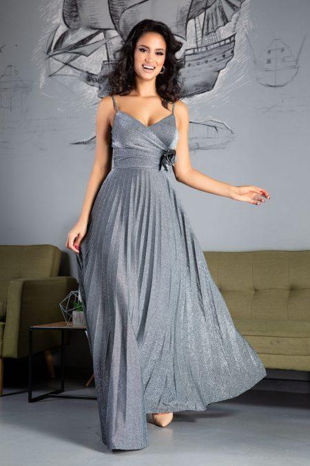 Charming Silver Dress