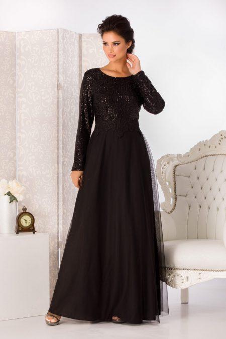 Vierra Black Dress
