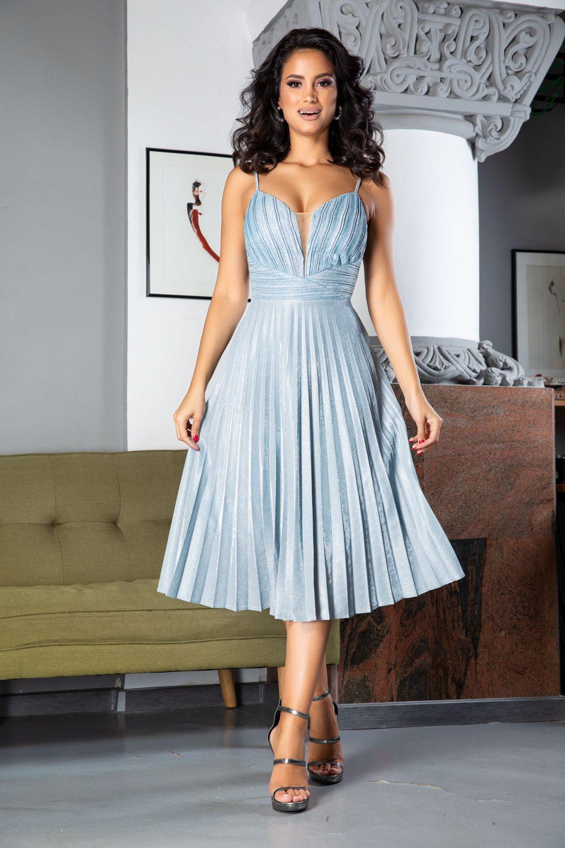 Maddy Blue Dress