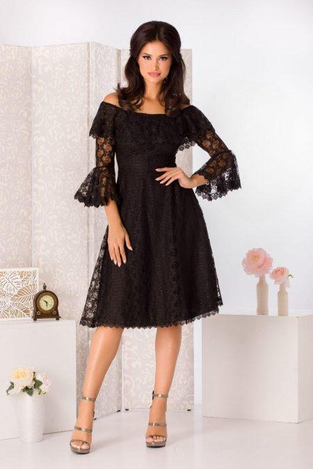Medana Black Dress