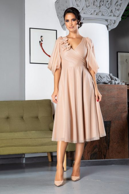 Rosario Nude Dress
