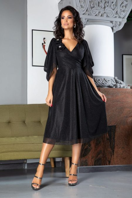 Rosario Black Dress