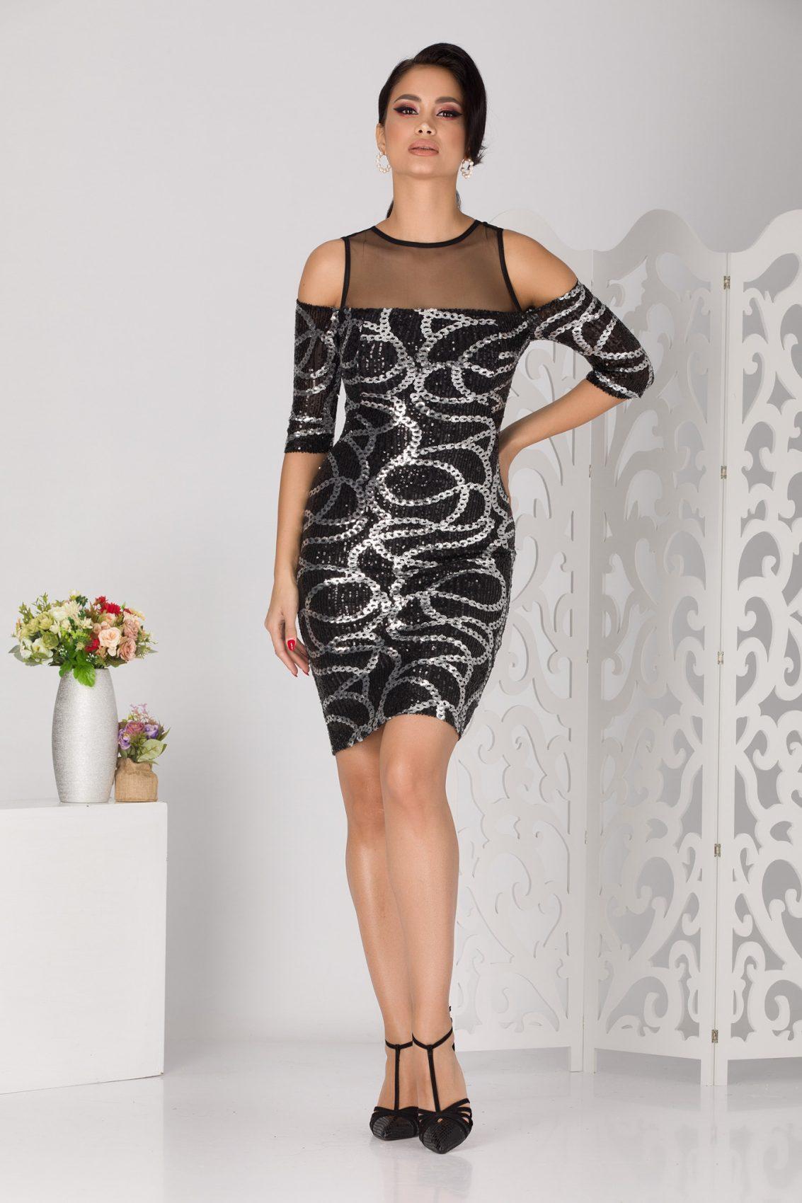 Anya Black Dress