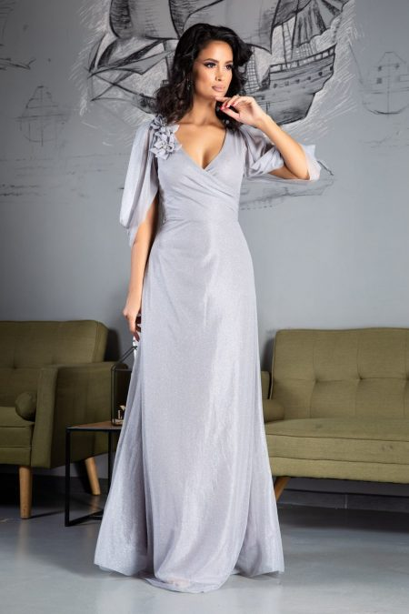 Teresa Grey Dress