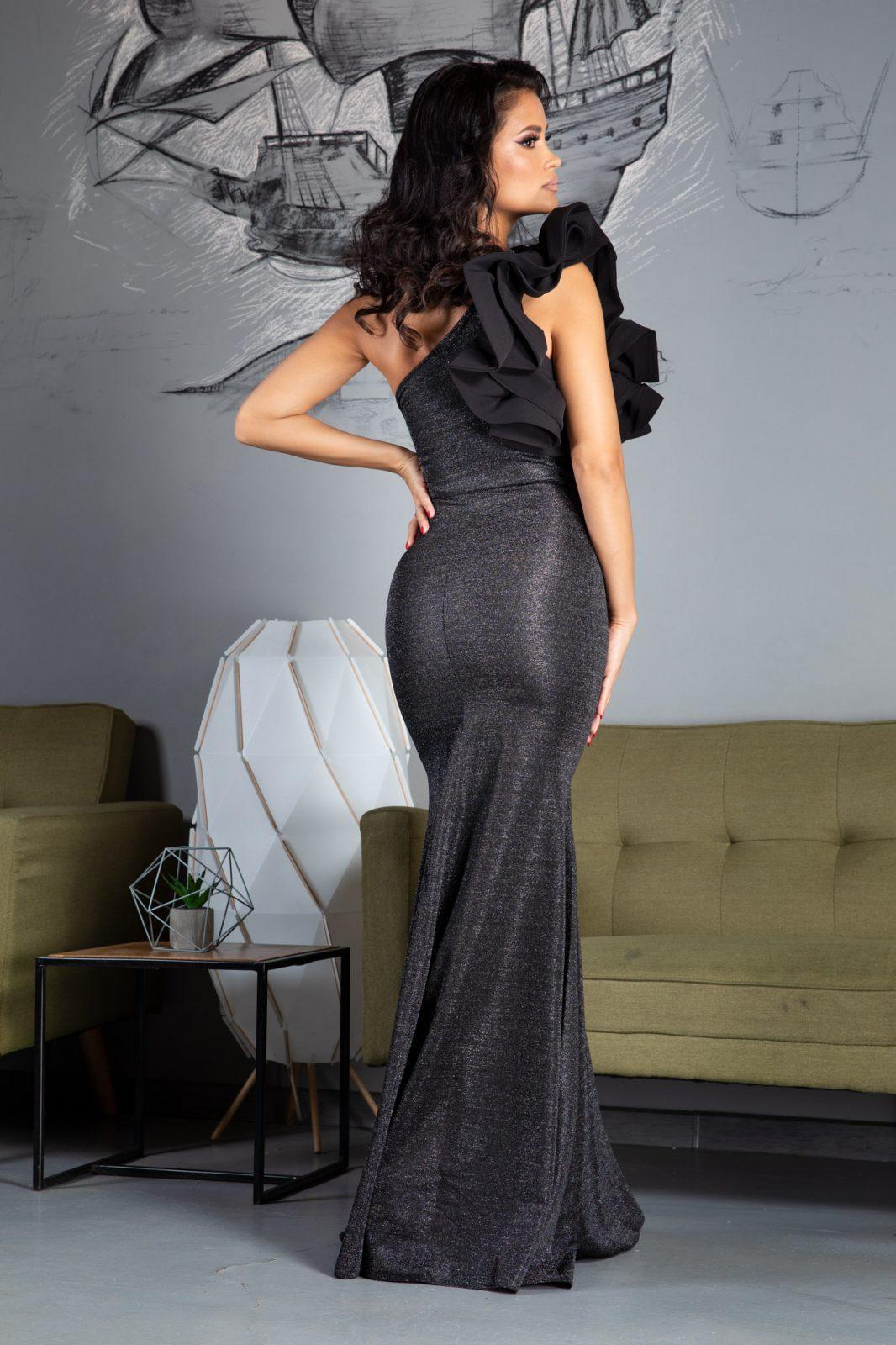 Amaltheea Μαύρο Φόρεμα 2343