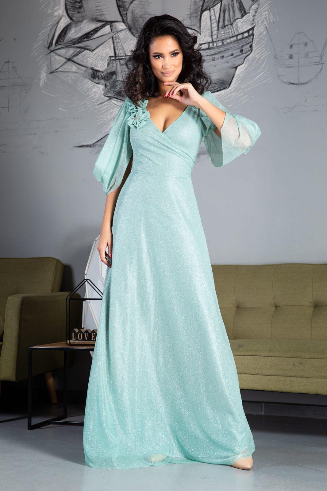Teresa Maxi Πράσινο Φόρεμα 5030 2