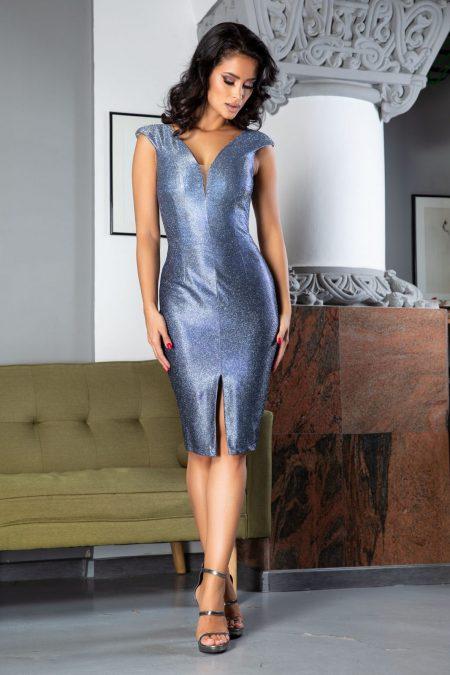 Loress Royal Blue Dress