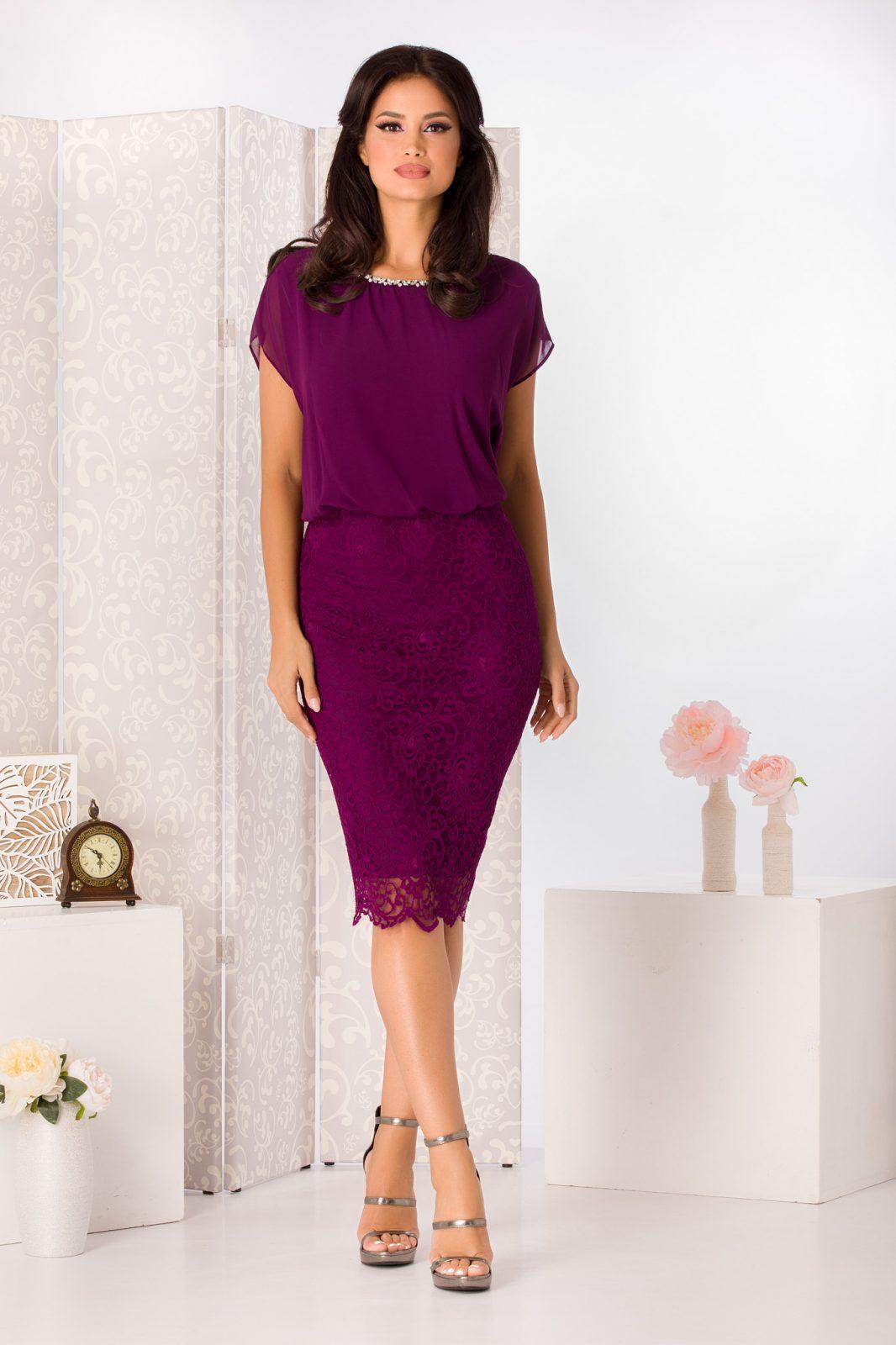 Trisha Violet Dress