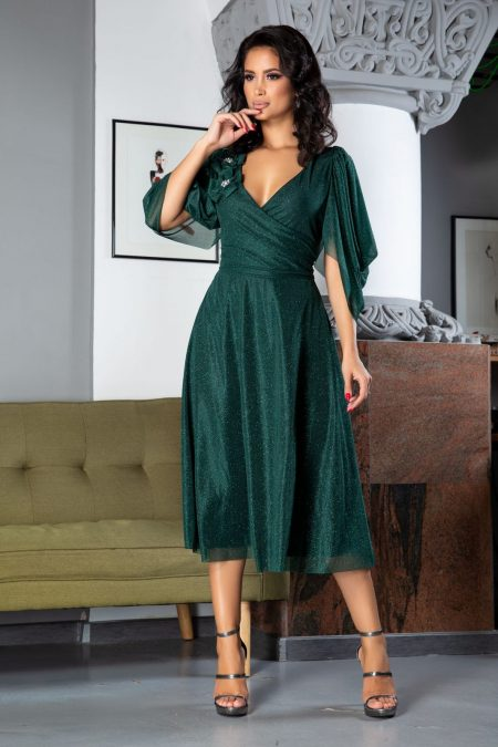 Rosario Green Dress