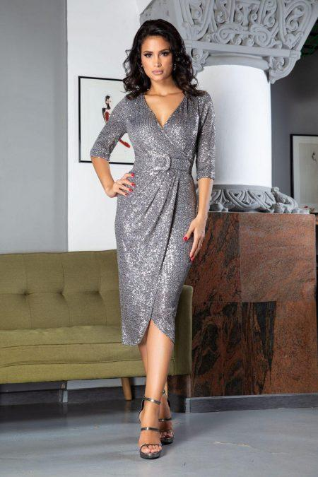 Expression Gray Dress