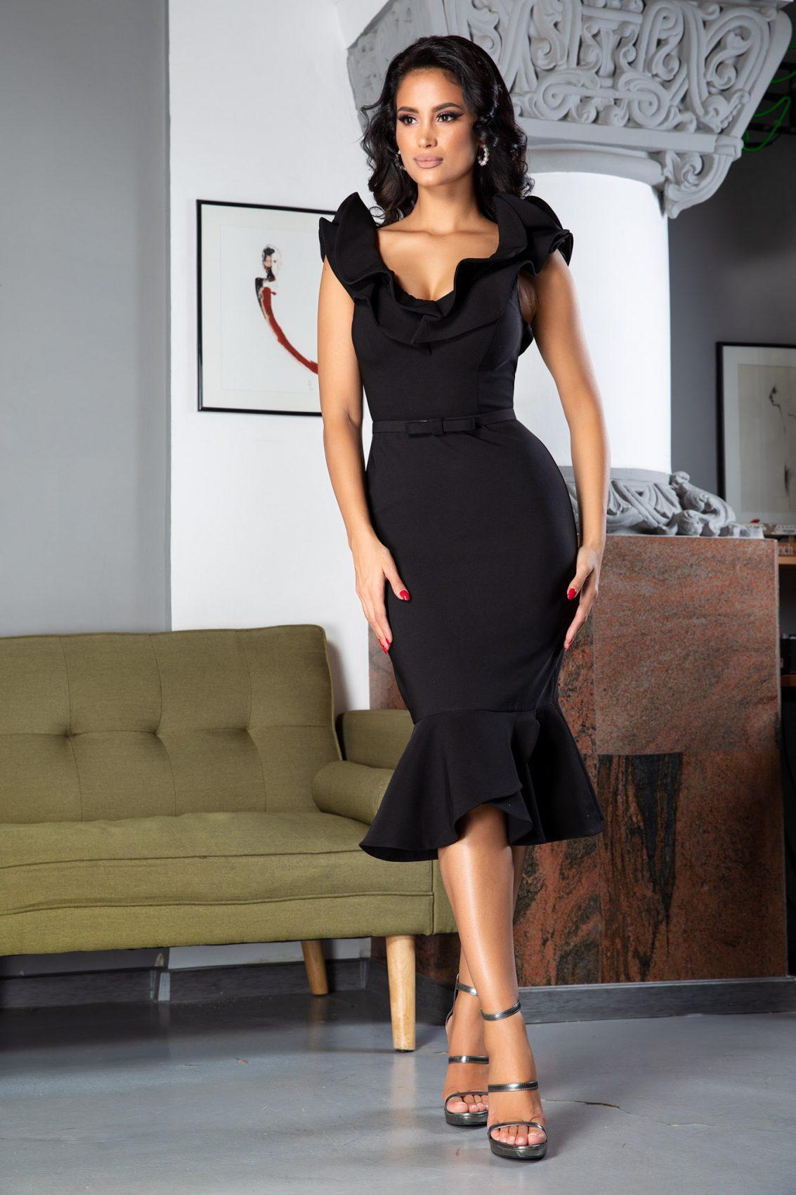 Mariola Black Dress