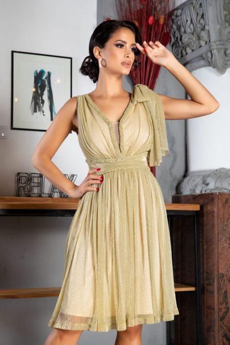 La Donna Deea Nude Dress