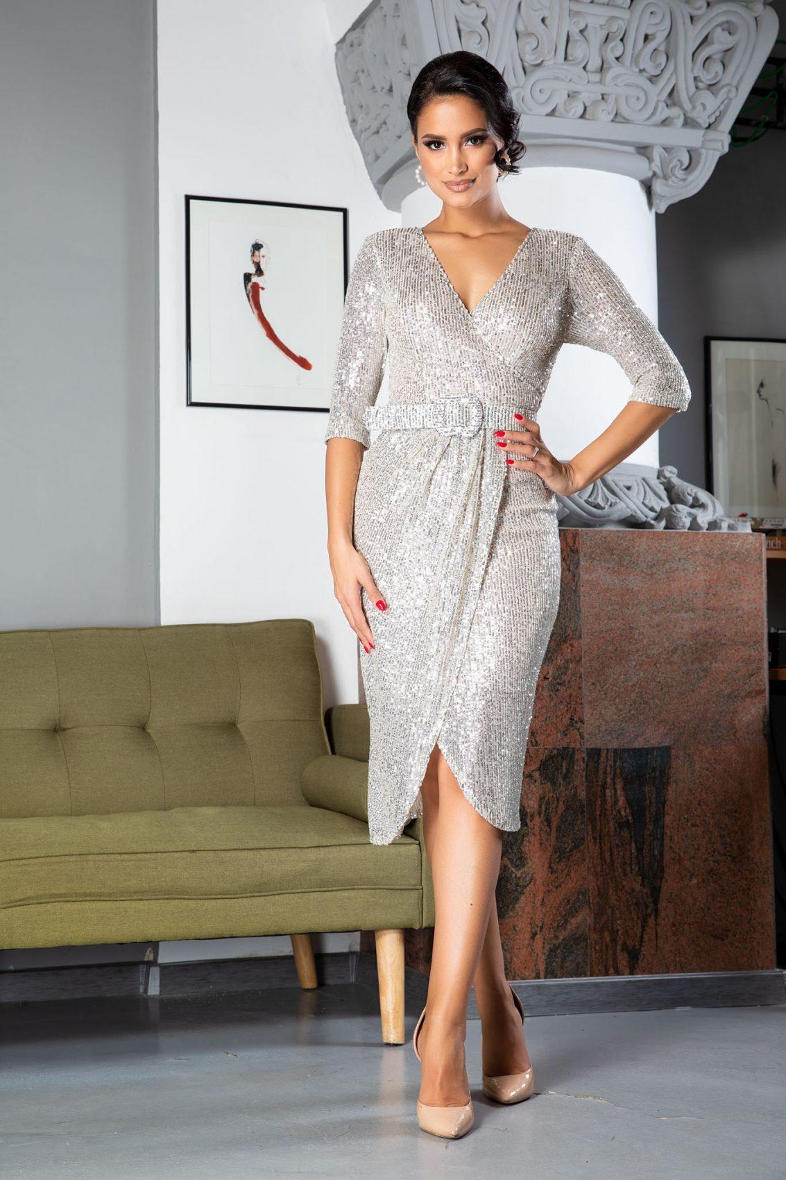 Expression Midi Nude Φόρεμα 5049