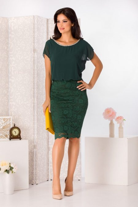 Trisha Green Dress
