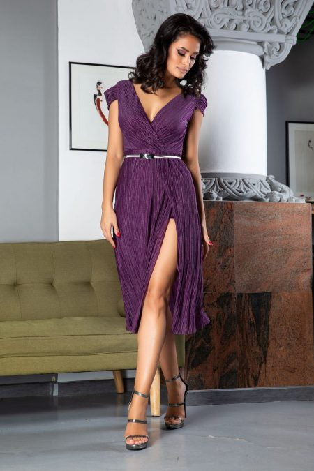 Cleopatra Purple Dress