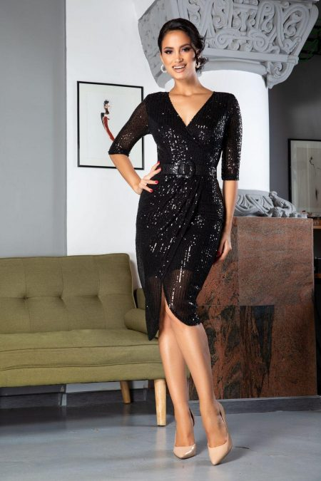 Expression Black Dress