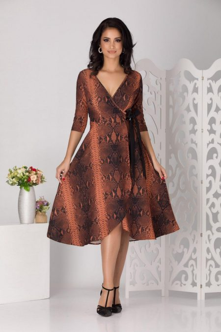 Loreen Animal Print Dress