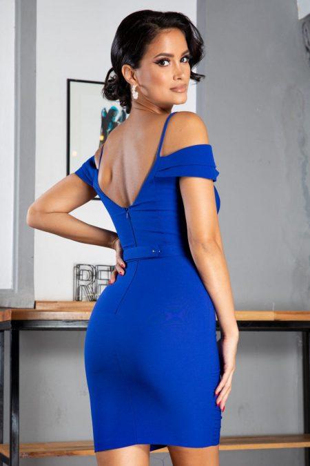 Noyre Μπλε Φόρεμα 5066