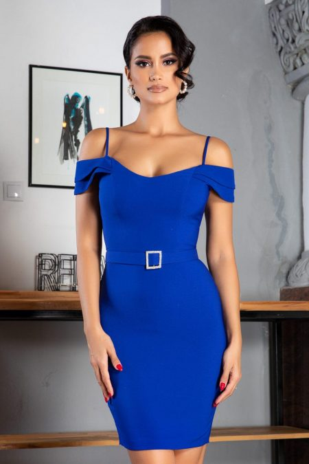 Noyre Royal Blue Dress