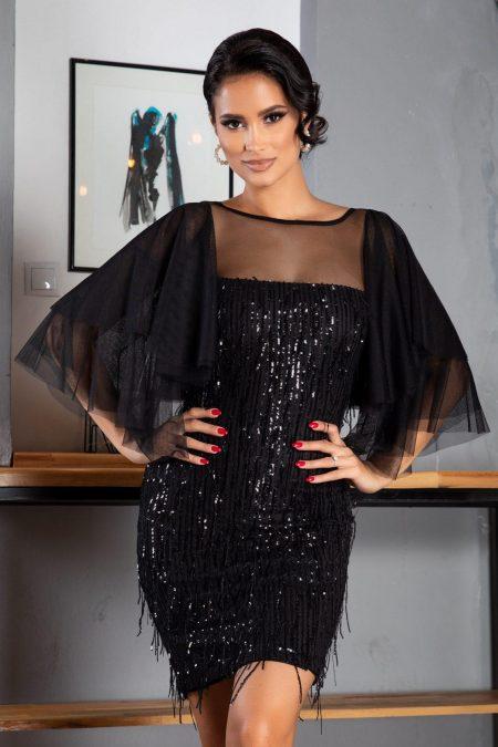 Elsa Black Dress