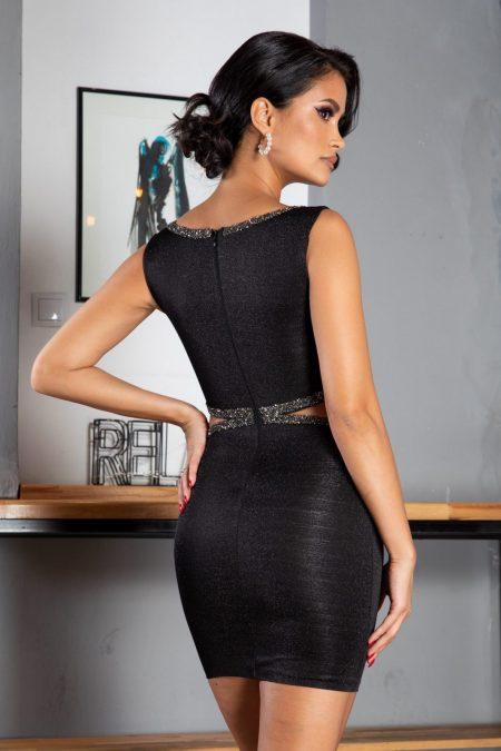 Lexie Μαύρο Φόρεμα 1248