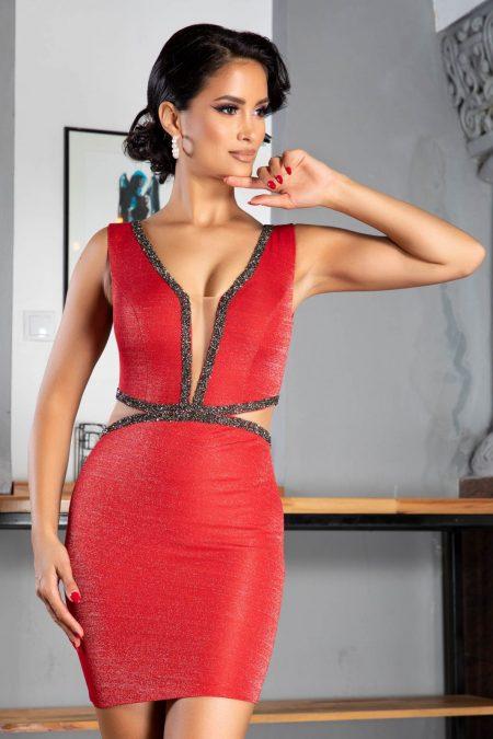 Lexie Red Dress
