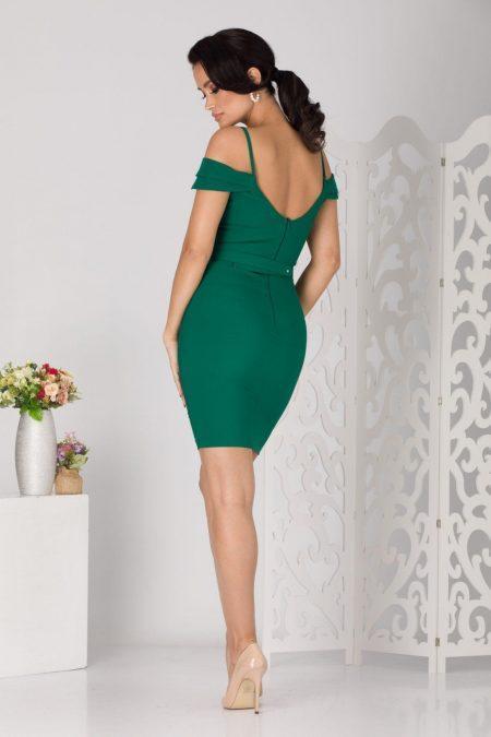 Noyre Midi Πράσινο Φόρεμα 5106
