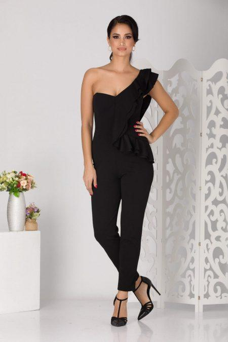 Norma Black Jumpsuit