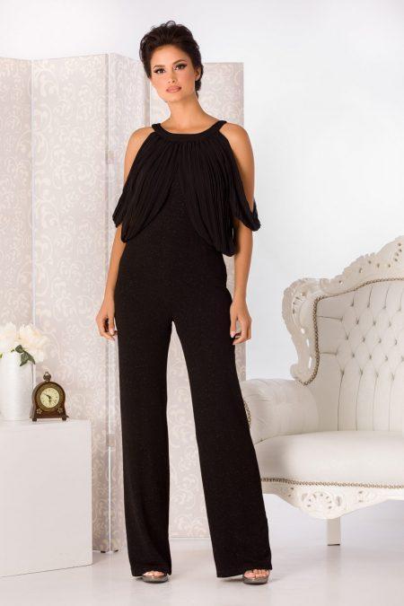 Ynesa Black Jumpsuit
