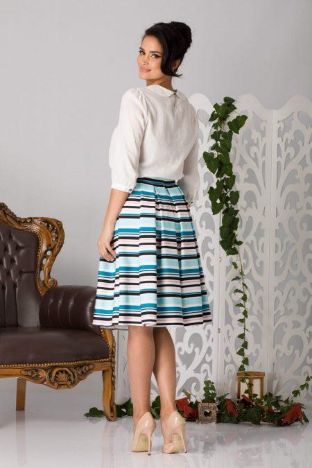 Aida Άσπρη Μπλούζα 5201