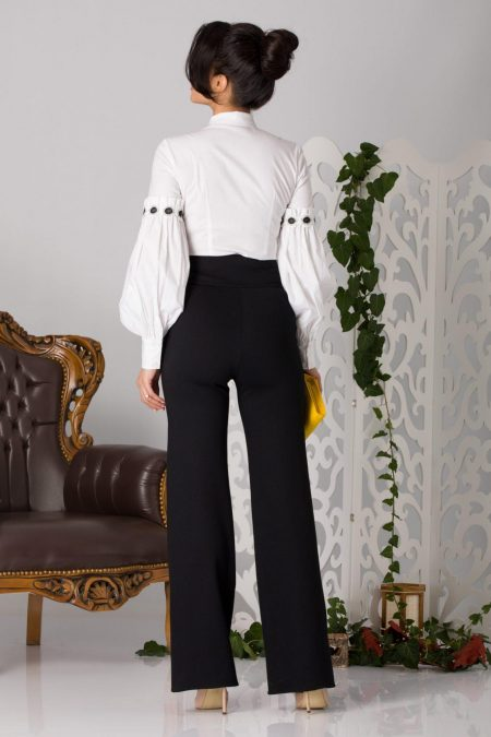 La Donna Betty Άσπρη Μπλούζα 5190